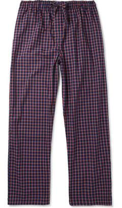 Derek Rose Checked Cotton Pyjama Trousers