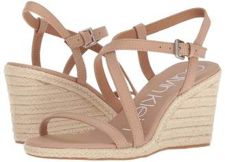 Calvin Klein Bellemine Espadrille Wedge Women's Wedge Shoes