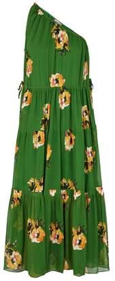A.L.C. Tenley Floral-print Silk Midi Dress