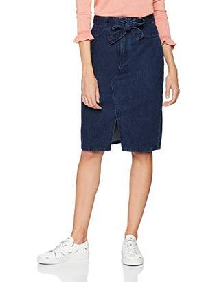 BOSS Women's J90 Berkeley Skirt, (Medium Blue 426), (Size: 28)