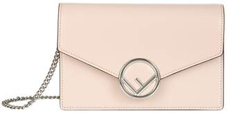 Fendi Mini Leather Wallet On Chain