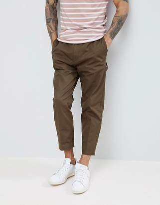 HUGO Cargo Pants In Khaki
