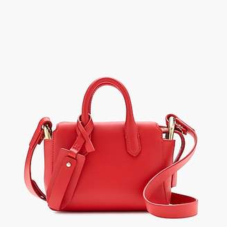 J.Crew The Harper mini satchel in Italian leather