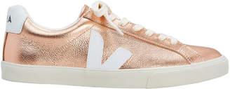 Veja Esplar Rose Gold Low-Top Sneakers