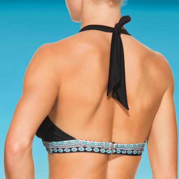 Athleta Longboarder Bra Cup Halter Bikini