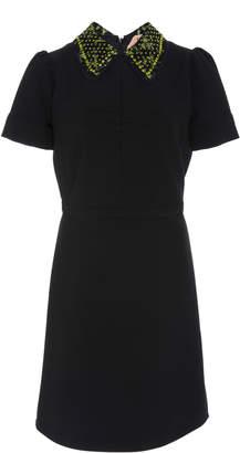 N°21 Ana Embellished Collar Dress