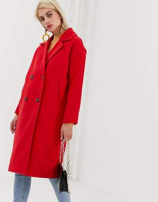 Vero Moda Double Breasted Coat