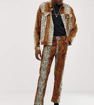 Reclaimed Vintage leopard printed pant