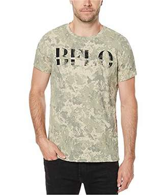 Buffalo David Bitton Men's Tocamo Short Sleeve Crew-Neck Fashion Graphic T-Shirt