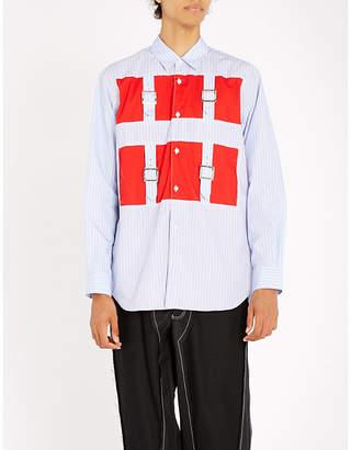 Comme des Garcons Patchwork regular-fit cotton shirt