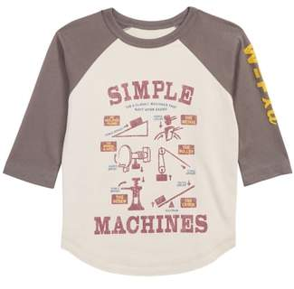 Peek Simple Machines Graphic Shirt