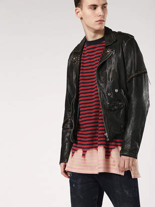 Diesel Leather jackets 0TASI - Black - L