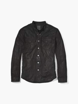 John Varvatos The Suede Shirt Jacket