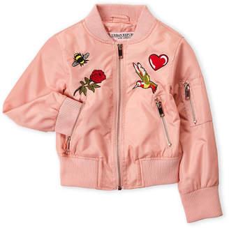 Urban Republic Girls 4-6x) Embroidered Bomber Jacket