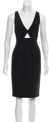 Alice + Olivia Sleeveless Knee-Length Dress