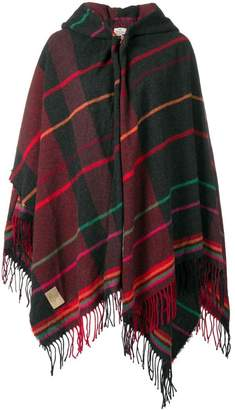 Vivienne Westwood fringed cape