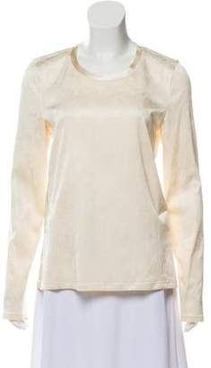 Calvin Klein Collection Textured Long Sleeve Top w/ Tags