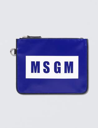 MSGM Logo Wristlet