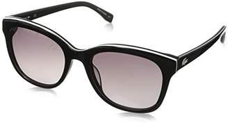 Lacoste Women's L819s Cateye Stripes & Piping Sunglasses