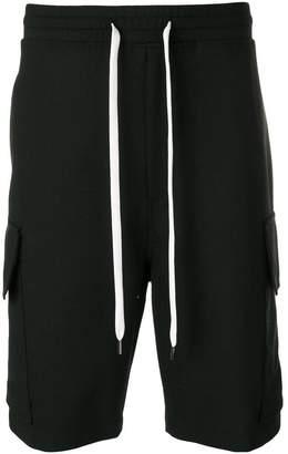 Neil Barrett drop-crotch shorts