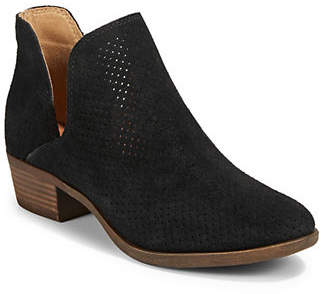 Lucky Brand Birtie Leather Booties