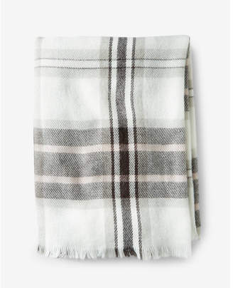 Express impala plaid blanket scarf $39.90 thestylecure.com