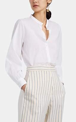 Barneys New York Women's Cotton Voile Puff-Sleeve Blouse - White