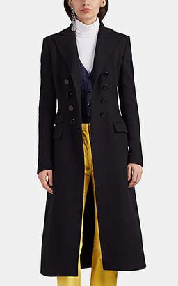 Altuzarra Women's Janine Wool-Blend Felt Double-Breasted Coat - Black