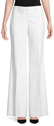 Theory Demitria 2 Flared Wool Pants