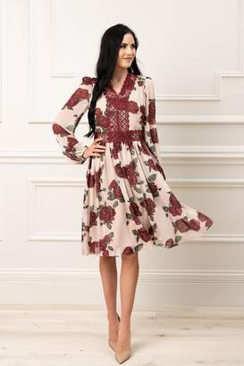 Rachel Parcell Holiday Floral Dress
