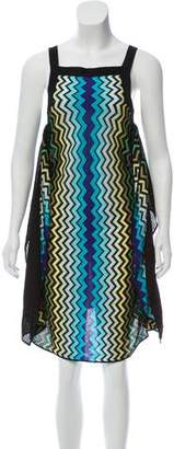 Missoni Sleeveless Midi Dress