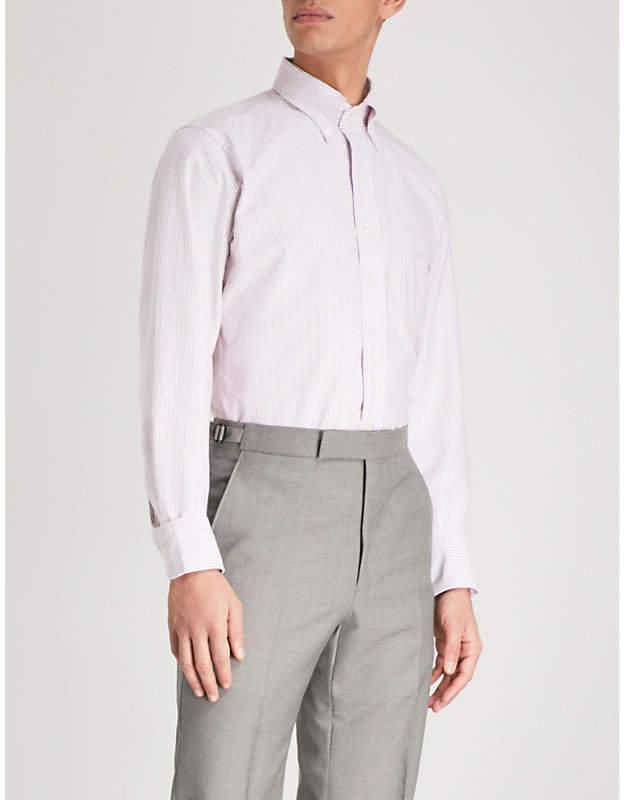 Easyday striped cotton Oxford shirt