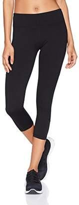 """Starter Women's 20"""" Capri Legging with Mesh Panels and Pocket"""