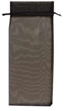 """JAM Paper Sheer Organza Wine Bag Carriers, - 6"""" x 14"""", Black, 96/pack"""