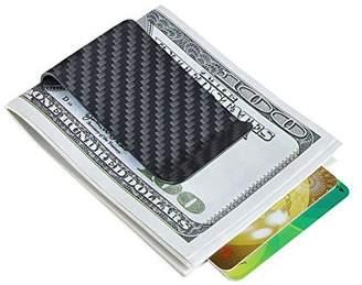 Christian Louboutin Carbonlife(TM) Carbon Fiber Money Clip Matte Credit Card Business Card Holder