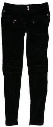 Balmain Mid-Rise Skinny Pants