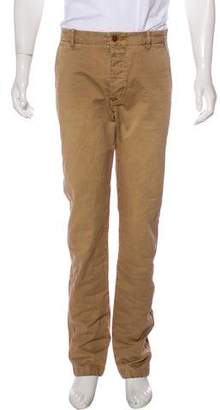 Closed Flat Front Skinny Pants