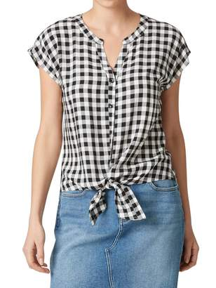 Jeanswest Willow Tie Front Shirt
