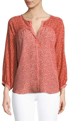 Joie Jafeth Silk Blouse