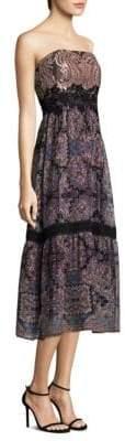 Nanette Lepore Lady Jane Silk Midi Dress