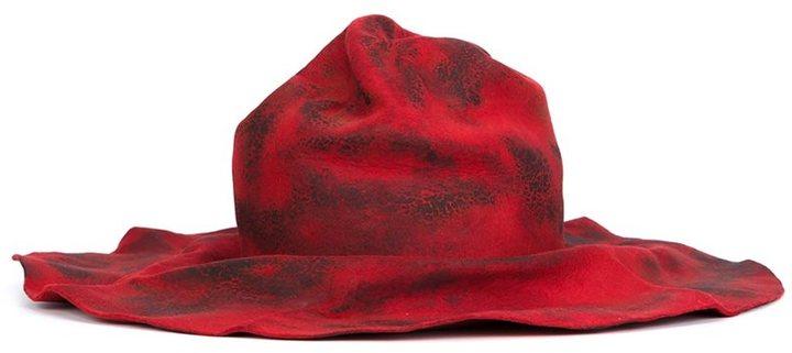 Horisaki Design & Handel 'Hard Burnt' fur felt hat