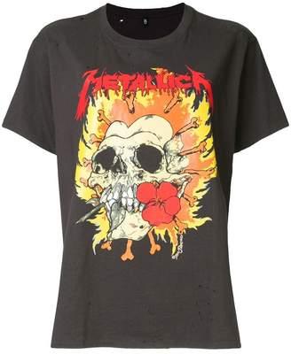 R 13 Metallica print T-shirt