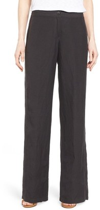 Women's Nic+Zoe 'Easy' Linen Blend Wide Leg Pants $118 thestylecure.com