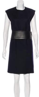 Celine Wool Knee-Length Dress