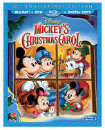 Disney Mickey's Christmas Carol 30th Anniversary Edition Blu-ray