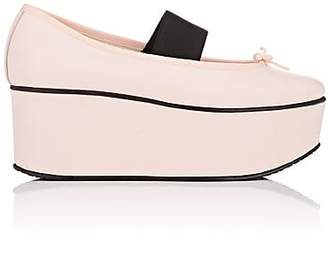 Repetto WOMEN'S LEATHER PLATFORM FLATS