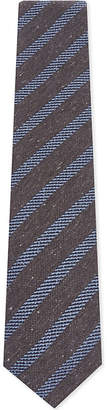 Eton Striped silk-blend tie