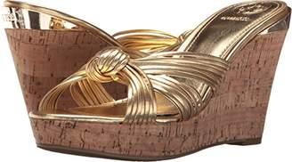 GUESS Women's Babsi Wedge Sandal