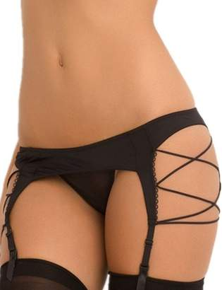 0029154df ohyeah Women Underwear Garter Belt with G String Suspender Belt