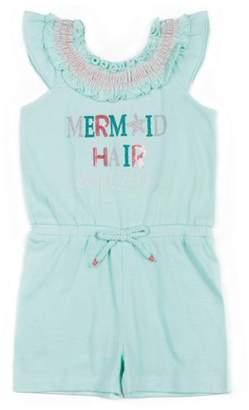 Little Lass Toddler Girls' Sequin Knit Romper